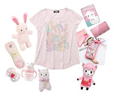 """""""🎀💕🍰🍼💝"""" by super-kawaii-zoe ❤ liked on Polyvore featuring Hello Kitty, GE, Oysho and Nintendo"""