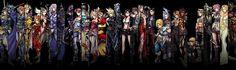 FF Dissida - Personajes Full