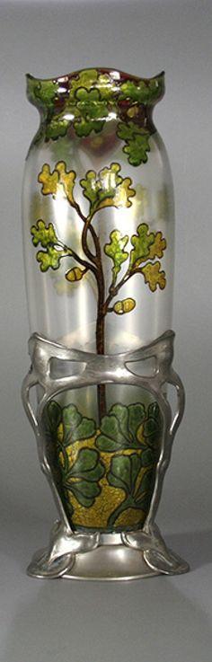 Fritz Heckert and Van Hauten vase