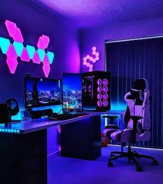 Ultimate Gaming Setup, Best Gaming Setup, Gamer Setup, Gaming Room Setup, Pc Setup, Desk Setup, Computer Gaming Room, Computer Setup, Bedroom Setup