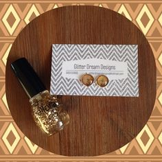 B Nailed Polish paired with a pair of Glitter Dream Designs Earrings ~ Only $10