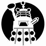 Dalek Pumpkin Stencil | Doctor Who Pumpkin Stencil