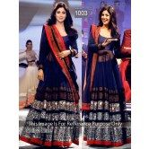shilpa-shetty-navy-blue-long-anarkali-suit