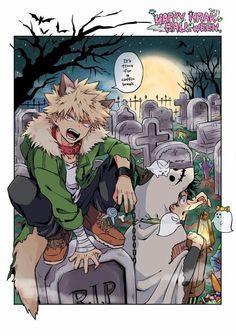 boku no hero academia bakugou halloween Buko No Hero Academia, My Hero Academia Memes, Hero Academia Characters, My Hero Academia Manga, Anime Characters, Cute Gay, Manga Anime, Anime Art, Deku Anime