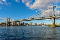 Photo du pont de Manhattan prise depuis DUMBO, à Brooklyn
