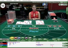 TABLE SUPER BACCARAT