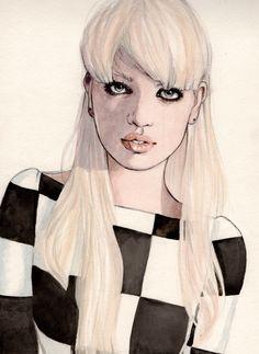 Illustration: Daphne Groeneveld, Dansk Magazine, Spring 2013 | Illustration by Helen Green