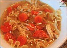 This Slow Cooker Home Style Chicken Noodle Soup is one of those slow cooker noodle noodle soup recipes that's easy to whip without a lot of ...