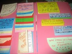 MY PROPHETS IN ISLAM LAPBOOK