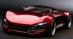 Audi R10 V10 Supercar: Impressive Concept Study by Design Student   Super Cars