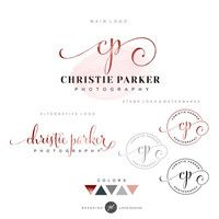 Logo design, Custom logo, premade logo, Photography logo, Watermark, Business logo brand package Stamp, Initials, fancy logo Branding kit 01