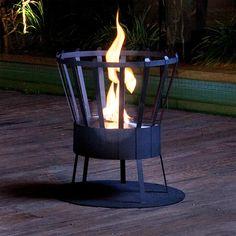 Brazier Fire Pit - lifestylerstore - http://www.lifestylerstore.com/brazier-fire-pit/
