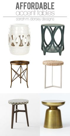 Affordable Finds | Accent Tables