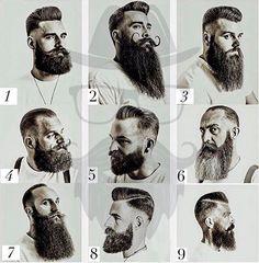 Ideas Haircut Men Vintage Barber Shop For 2019 Great Beards, Awesome Beards, Beard Styles For Men, Hair And Beard Styles, Beard Shapes, Beard Haircut, Beard Look, Epic Beard, Men Beard