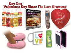 Share The Love Valentine's Day Giveaway -  Day 1 - (ends 2/11)