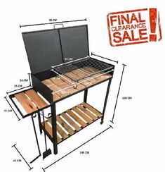 How to season a charcoal grill? Bbq Grill Diy, Fire Pit Grill, Metal Furniture, Home Decor Furniture, Furniture Design, Barbecue Design, Grill Design, Parrilla Exterior, Patio Fire Pits