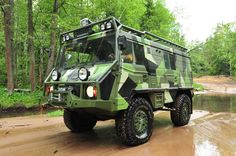 EX-ROAD — Ex-Road.ru — продажа и тюнинг внедорожников: Pinzgauer Steyr Puch…