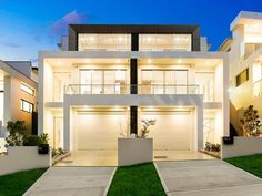 M Cubed Architects - Sydney Duplexes, Designer Houses, Townhouses - Sutherland Shire, Georges River, Bayside 2 Storey House Design, Duplex House Design, Modern House Design, Modern Townhouse, Townhouse Designs, Duplex House Plans, Modern House Plans, House Layout Plans, House Layouts