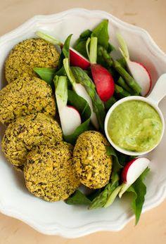 Scandi Home: Quinoa and Mung Bean Burgers with Fruity Avocado Dip