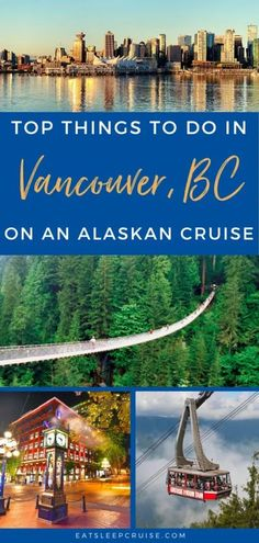 See all the great activities you can experience in Vancouver before or after your cruise in our Top Things to Do in Vancouver on an Alaskan Cruise. #cruise #AlaskaCruise #Canada #thingstodo #eatsleepcruise Cruise Excursions, Cruise Destinations, Cruise Port, Cruise Vacation, Vacations, Alaska Cruise Tips, Sea To Sky Highway, Vancouver Aquarium, Best Cruise Ships