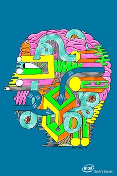 Under the Hood. Brain Biology & Graphic Design. By Mike Perry.