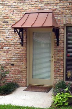 awning for residential front door | Front Door Awning - Window Coverings - Zimbio