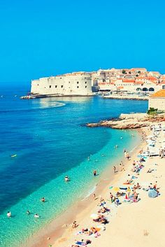 12 Vacation Spots which are Cheaper to Get to Today than in the Past Dubrovnik, Croatia Places Around The World, The Places Youll Go, Travel Around The World, Places To Visit, Around The Worlds, Croatia Itinerary, Croatia Travel Guide, Croatia Tourism, Vacation Destinations