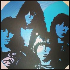 Ramones Record Art Made To Order by tigerbee on Etsy