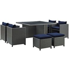 Item specifics     Condition:        New: A brand-new, unused, unopened, undamaged item in its original packaging (where packaging is    ... - https://lastreviews.net/outdoor/patio-and-deck/9-piece-outdoor-patio-glass-top-dining-set-sunbrella-canvas-navy/
