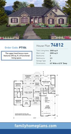 Bed Bath Ranch House Designs Html on