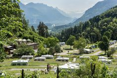 Wellness-camping op de enige Leading Camping in Vorarlberg. Glamping, Camping Europe, Campsite, Camping Ideas, Parks, Unusual Homes, Eurotrip, Van Life, Holiday Destinations