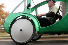 ELF solar-electric trike
