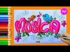IDEAS PARA MARCAR CUADERNOS-Regreso a clase-Cómo dibujar portada de FÍSICA - YouTube Cute Notes, Notebook Covers, Study Notes, Back To School, Arts And Crafts, Doodles, Bullet Journal, Letters, Creative
