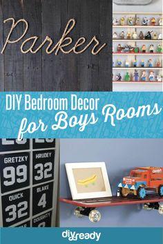 13 Boys Room Decor Ideas You Can DIY
