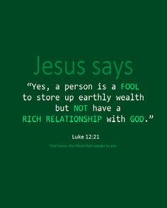 Image result for Luke 12:19-21