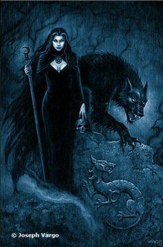 Wolf witch