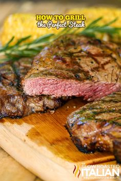 Grilling the perfect steak results in a tender juicy steak with a life altering crust on the outside. You just need to know how. This recipe and how-to will make the best steak you will ever eat in your life! #perfect #steak