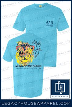 8870e397 Alpha Delta Pi - Queen of the Jungle | Legacy House Custom Sorority and Fraternity  Shirts