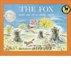 A favorite folk song about a clever fox who outsmarts a farmer provides the text for Peter Spier's splendid and humorous illustrations of a New England autumn night in a Caldecott Honor Book. Includes music for voice, guitar, piano, and all seven verses of the song.