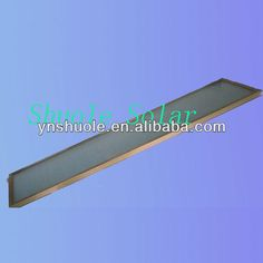 tile roof solar collector  * Blue Film & Black Chromium solar panel  * High absorbtion rate 97%  * Absorptivity 95%