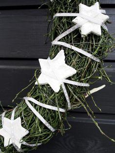 diy joulu etupiha