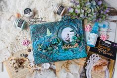 Natalya Trofimova - featured in Mixed Media Place July 2017 challenge