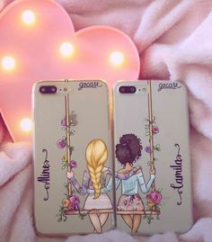Trendy Ideas Funny Friends Quotes Bff I Love Bff Iphone Cases, Bff Cases, Cute Phone Cases, Diy Phone Case, Best Friend Cases, Friends Phone Case, Funny Quotes Tumblr, Telephone Iphone, Accessoires Iphone