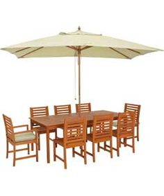 Garden Furniture 8 Seater Patio Set buy barcelona 6 seater patio furniture set at argos.co.uk - your