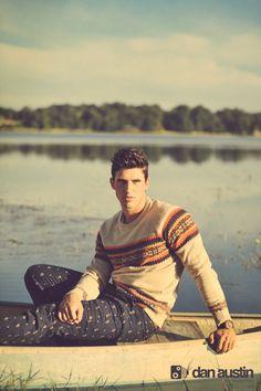 Model, Nate Johnson  © danaustinphotography