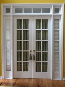 How To Put Up A Door Curtain Without A Curtain Rod