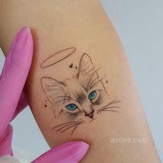 Beautiful Animal Tattoos Lower Back Tattoos - Art interests Pretty Tattoos, Love Tattoos, Sexy Tattoos, Body Art Tattoos, Hp Tattoo, Tattos, Tattoo Flash, Beautiful Tattoos, Black Cat Tattoos