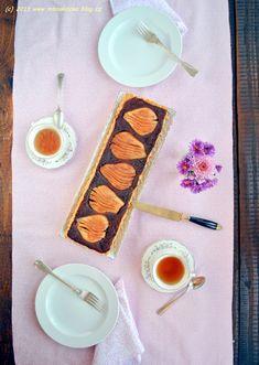 Hruškovo – čokoládový koláč (a švestkový bonus)   Blog Mlsné kočky Blog, Blogging