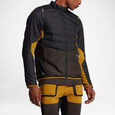 Men s Nike NikeLab Gyakusou AeroLoft Running Jacket Black Small S 872069 010 ed3c499dc435b