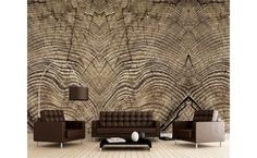 Tree trunk mural   #Bloompapers #Wallpapers #Home #Deco #Mural #Nature